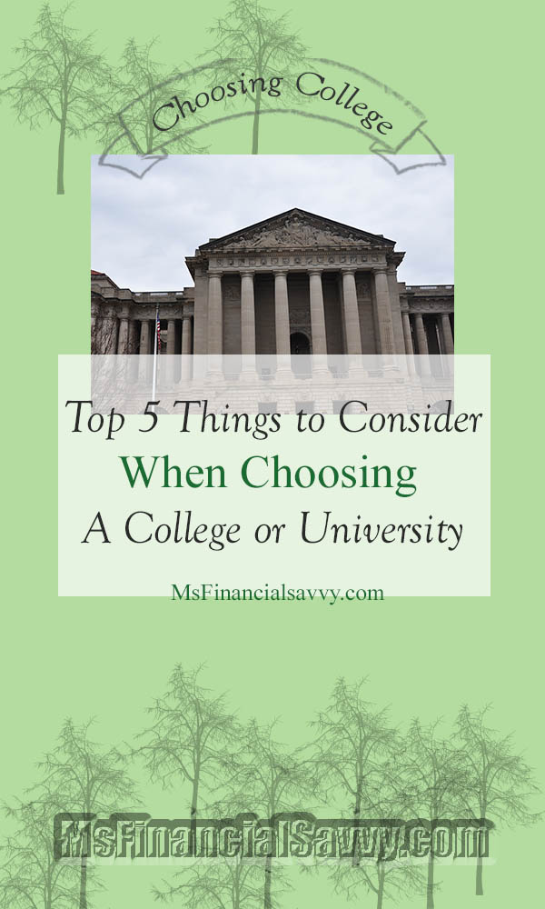 factors to consider when choosing an university Five factors for choosing software caroline jarrett usability consultant effortmark ltd.