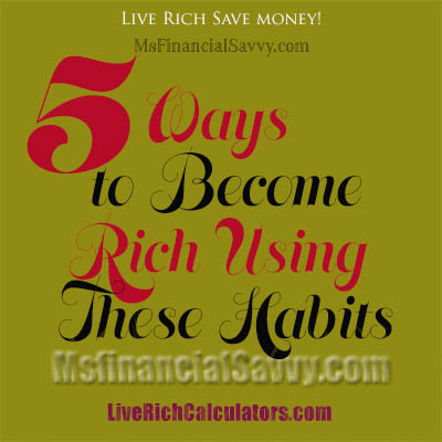 the ways to become rich In this how to get rich guide for ladies,  learn how to become rich and find your path to financial freedom secrets of the 1 percent (shhhh.