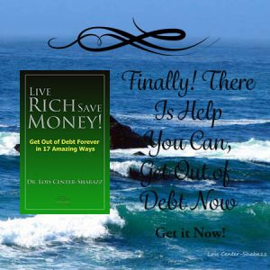 Author Interview, Live Rich Save Money! Get Out of Debt Forever in 17 Amazing Ways
