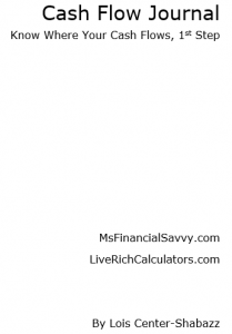 cash flow journal