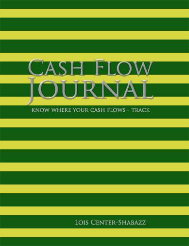 cash flow journal, know where your cash flows