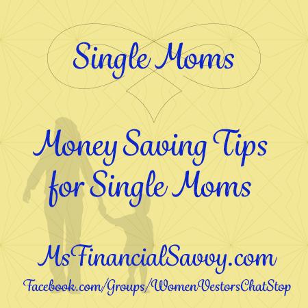 Smart Money Saving Tips for Single Moms
