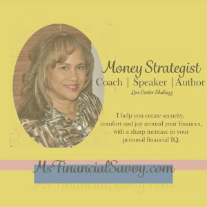money strategist, coach, speaker author