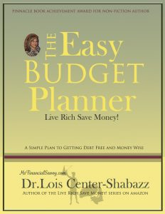 The easy budget planner to live rich save money
