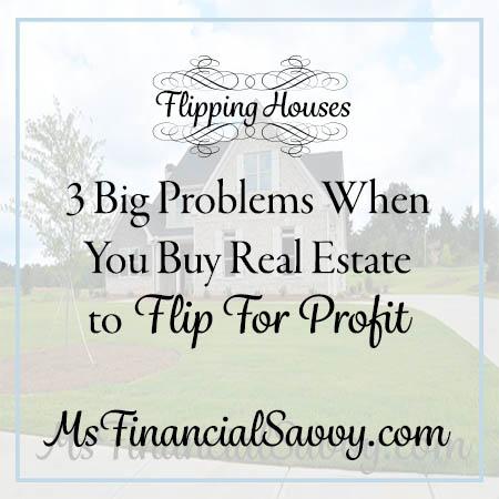 buy real estate to flip for profit