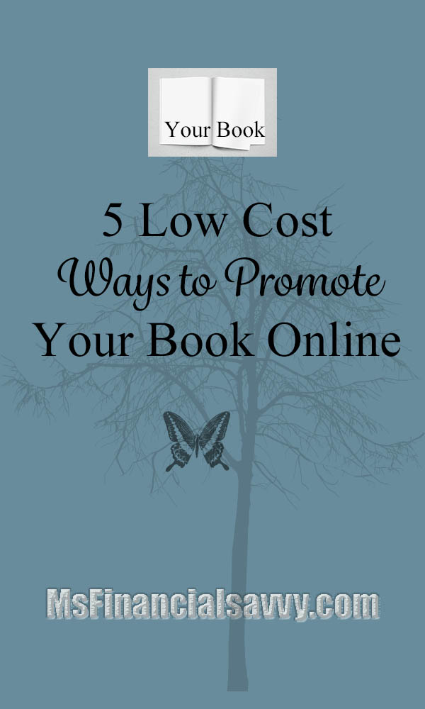 5 low cost ways to promote your book online