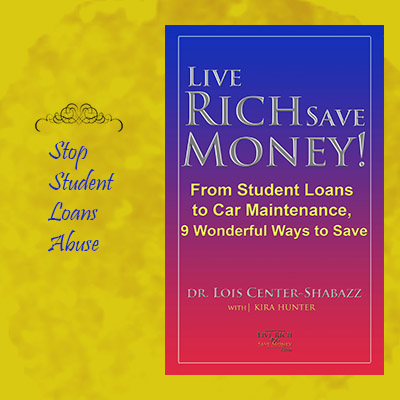 college ebook excerpt, student loans to car maintenance