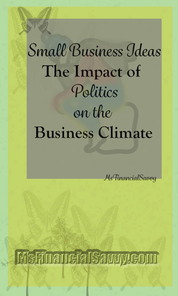 Small business ideas and politics