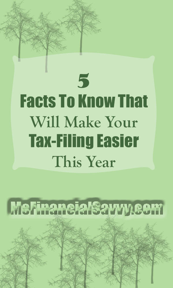 tax-filing easier this year