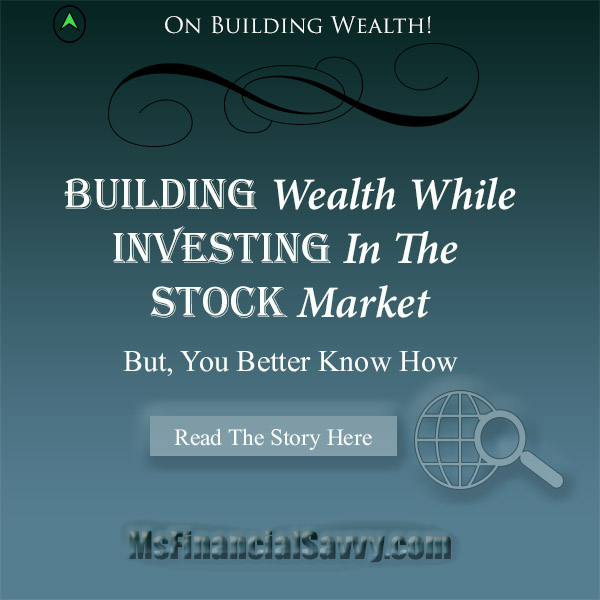 Building wealth investing in the stock market