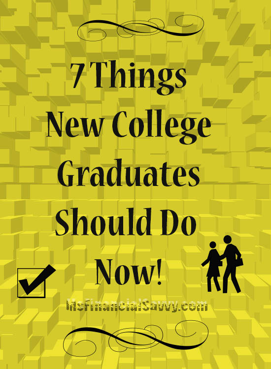 7 things new college graduates should do, job search, student loans, resume
