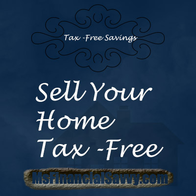 sell your home tax-free