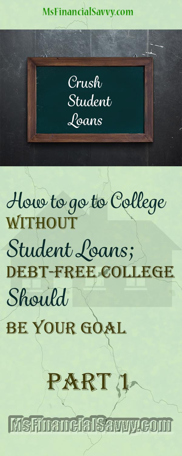 college without student loans, go debt-free