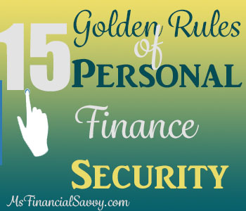 Personal Finance Security