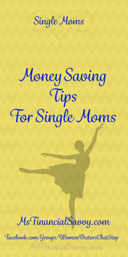 Money Saving tips for single moms