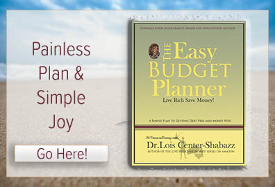 shops at msfinancialsavvy eBooks; The easy budget planner; Live Rich Save Money
