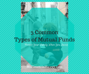 3 common types of mutual funds