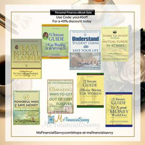 Change bad financial habits with Top Personal Finance eBooks at MsFinancialSavvy