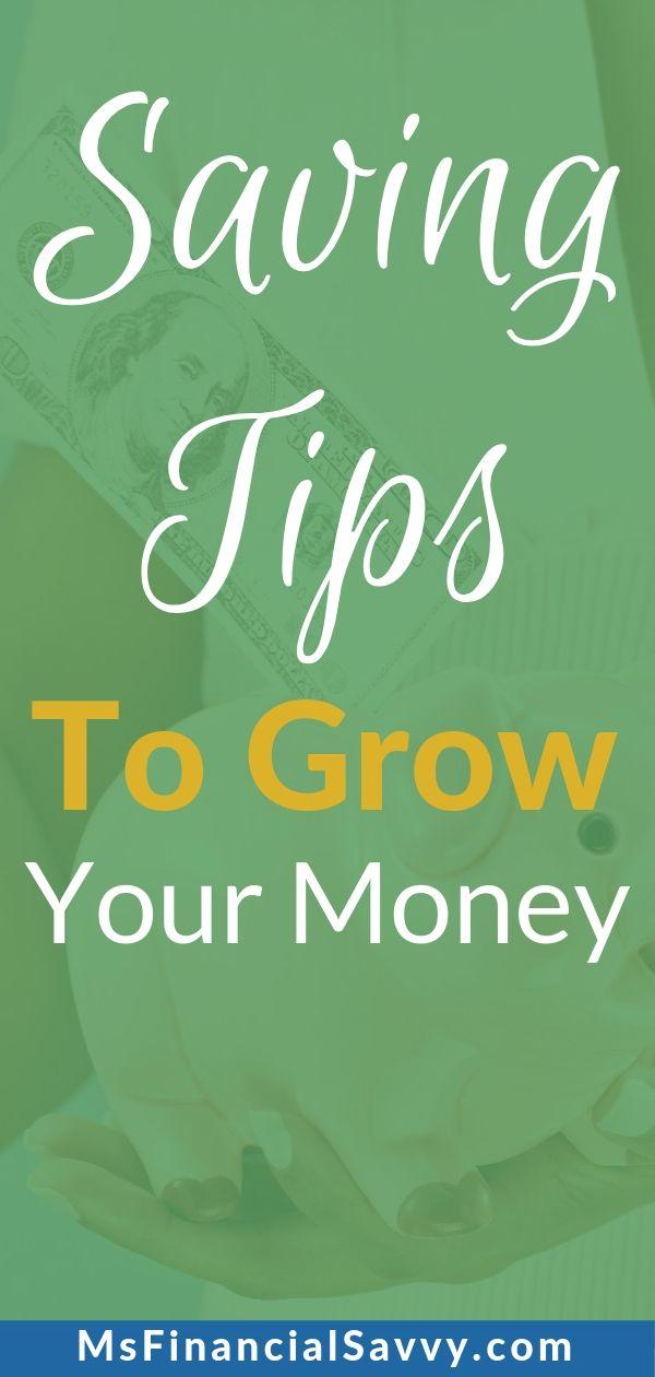 3 Saving tips to grow your money over time