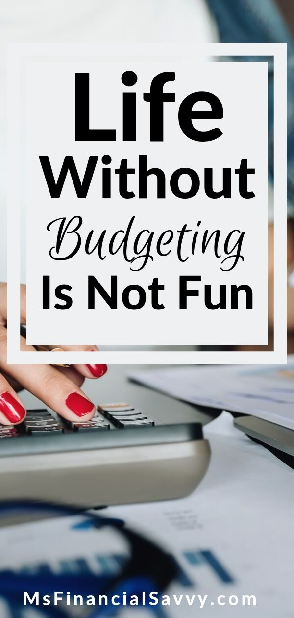 How much you budget what you have makes a difference