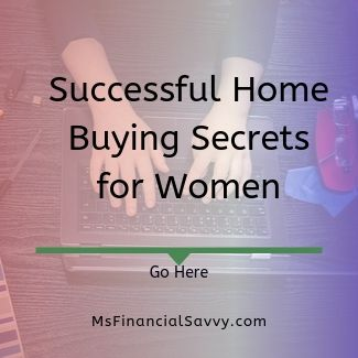 successful home buying secrets for women