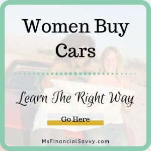Women buy cars, learn the right way