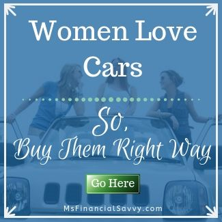 women love cars. So, buy them the right way.