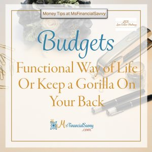 money quotes; budgeting for groceries seems like a simple task