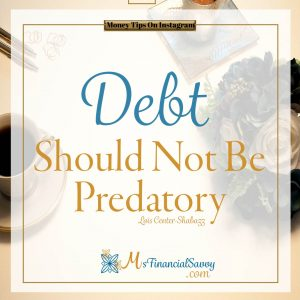 Money quotes, Skills should not be predatory
