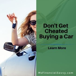 Ladies, don't get cheated buying a car.