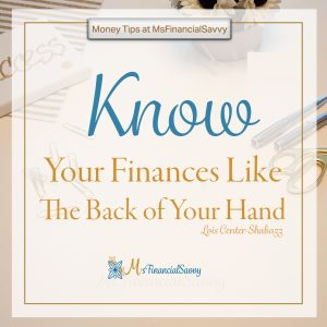 real estate home buying success you must know your finances like the back of your hand
