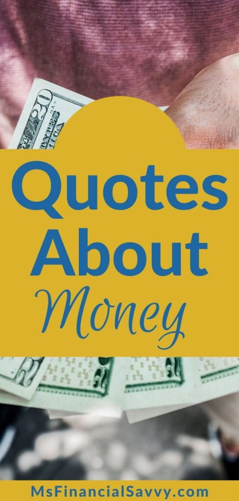 Money quotes for daily use