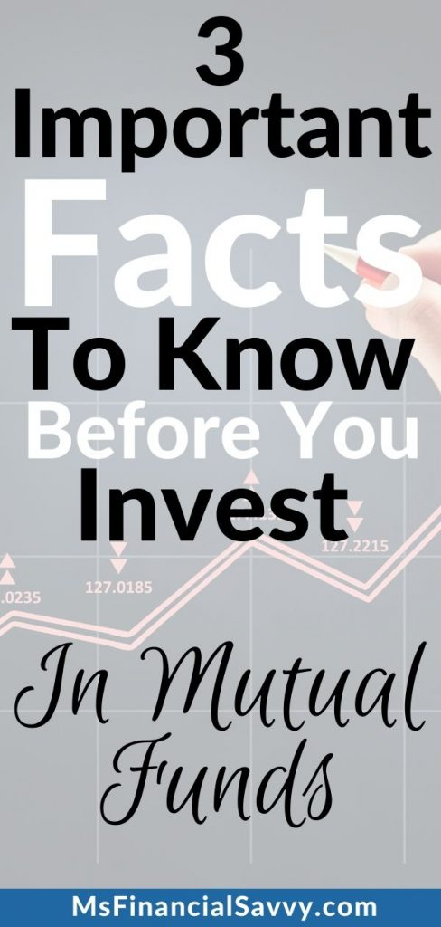 3 important facts to know before you invest in mutual funds