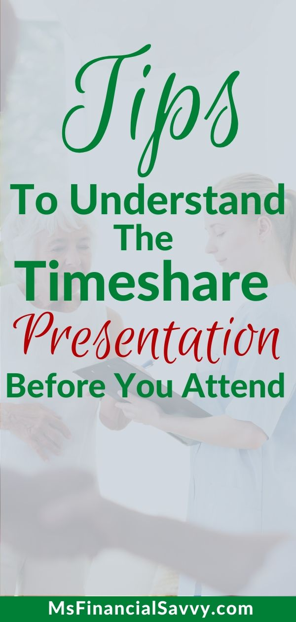 Secrets to the Timeshare Presentation