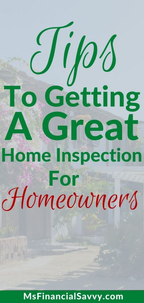 Home inspections for home buyers
