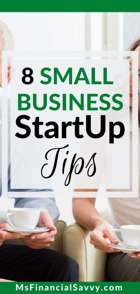 Small business startup tips